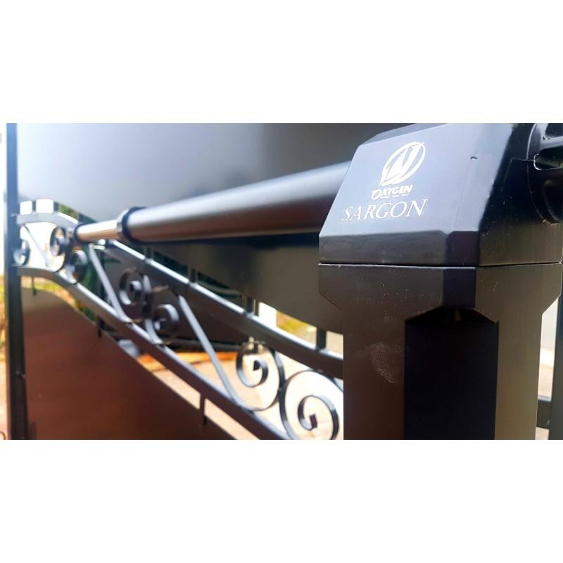 Kit Apricancello Due Ante.Full Kit Sargon 230v Cancello Battente Due Ante Residenziale