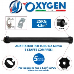 Motor for roller shutters up to 4.5m² (PVC) / 25Kg